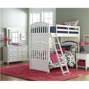 Legacy Classic Kids Academy Twin Bedroom Group