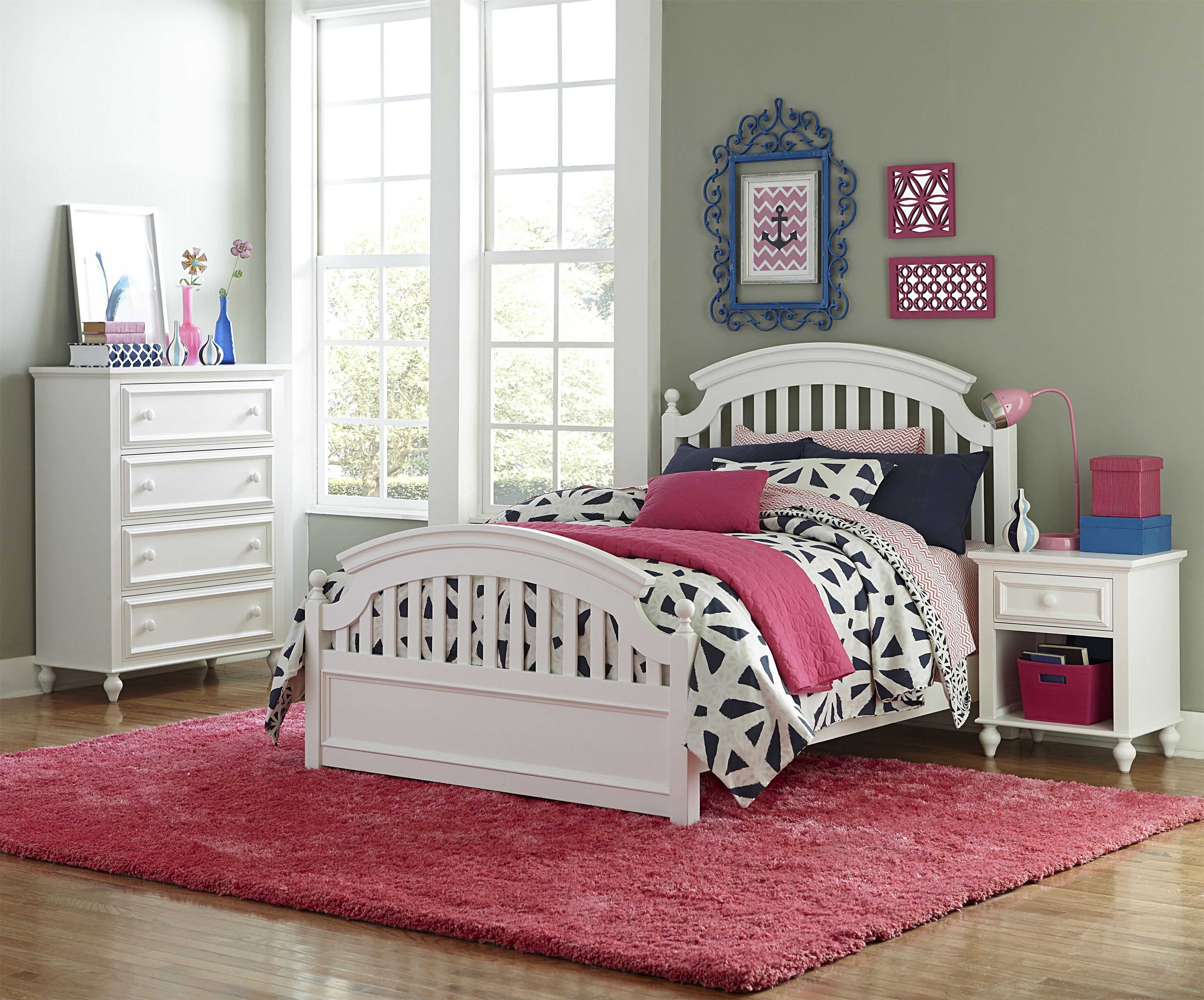Legacy Classic Kids Academy Full Bedroom Group - Item Number: 5811 F Bedroom Group 1