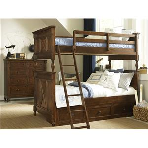 Legacy Classic Kids Big Sur by Wendy Bellissimo Full Panel Bed