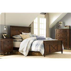 Legacy Classic Kids Big Sur by Wendy Bellissimo 6 Drawer Dresser with Changing Hutch