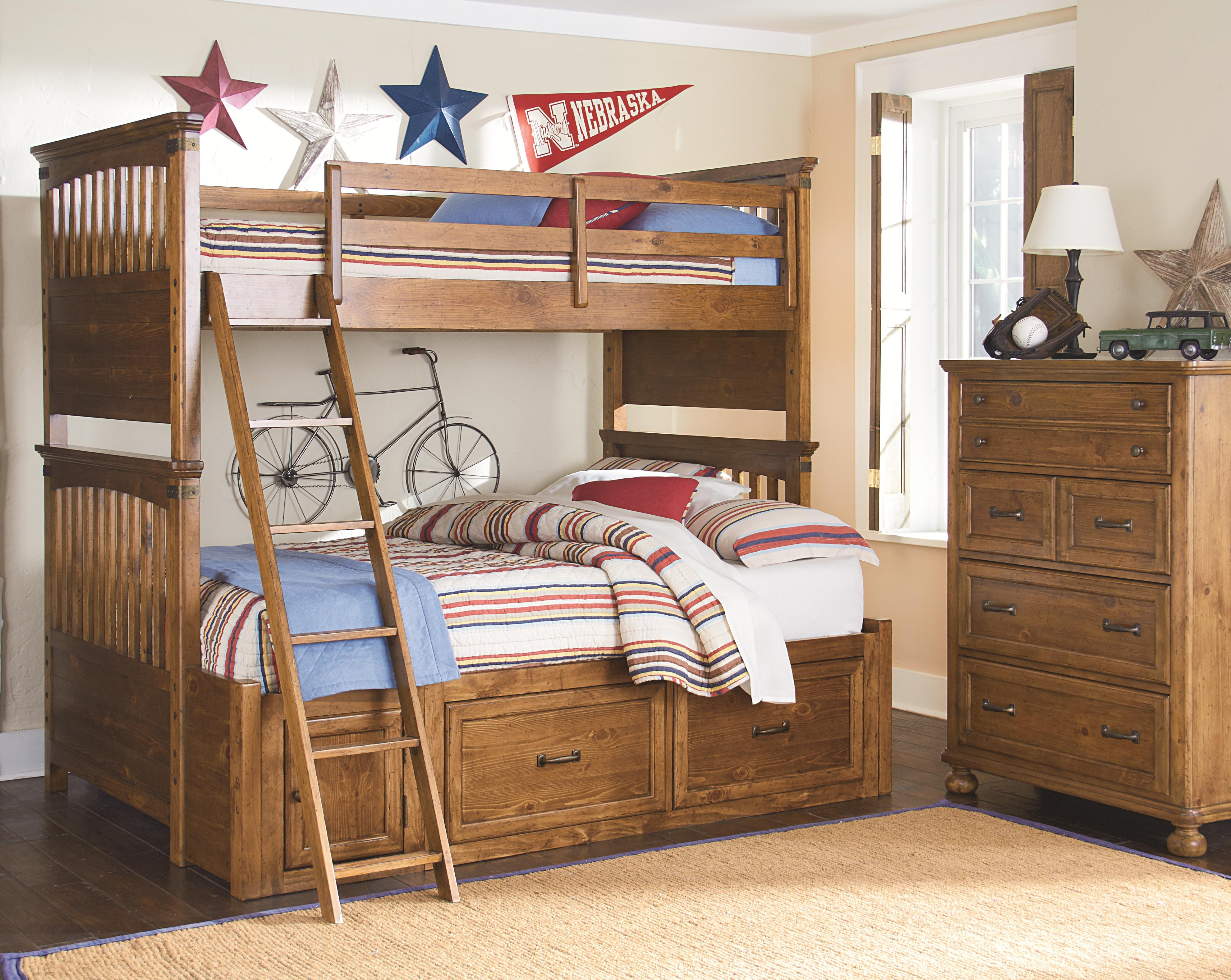 Legacy Classic Kids Bryce Canyon Full Bedroom Group - Item Number: 3900 F Bedroom Group 2