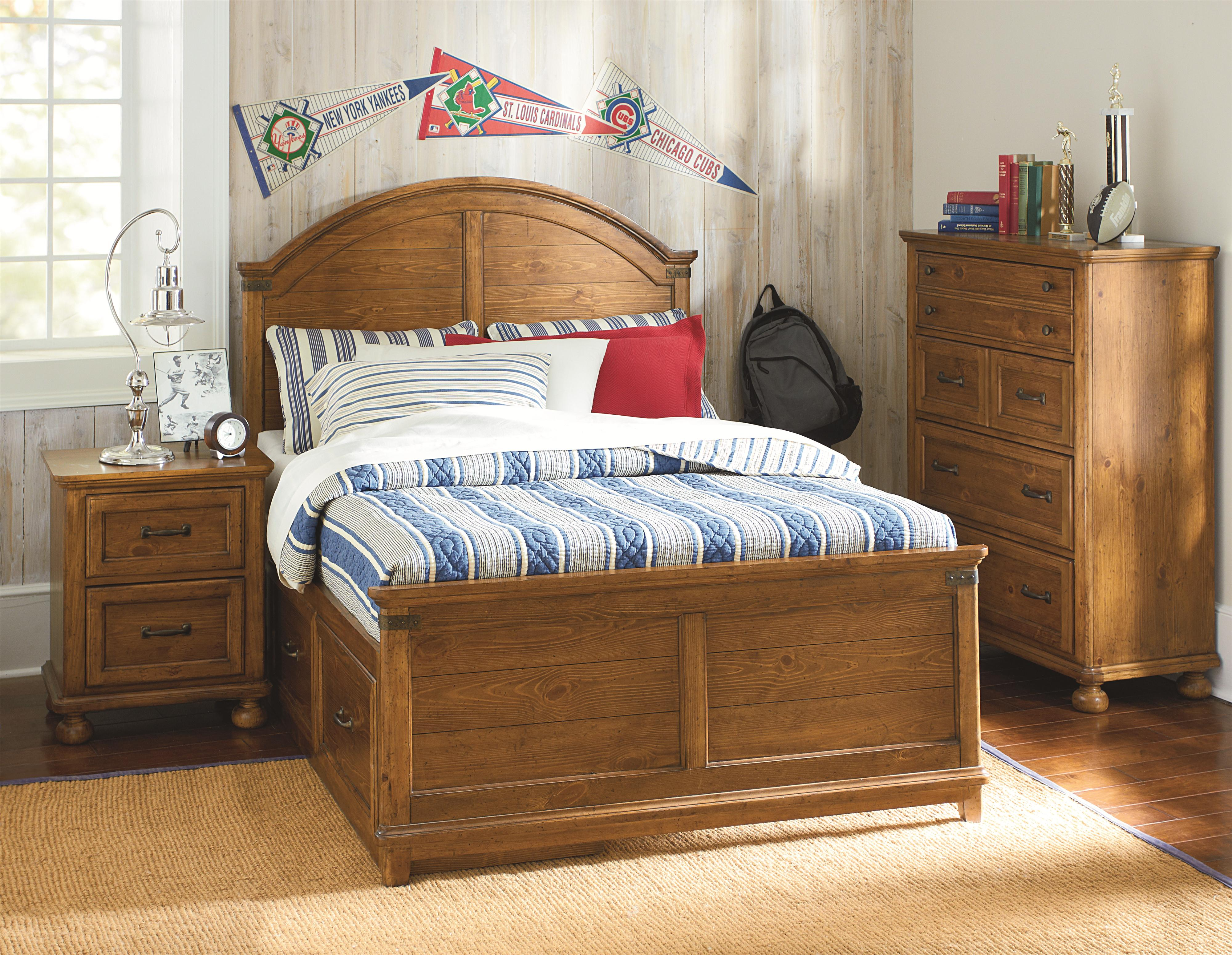 Legacy Classic Kids Bryce Canyon Full Bedroom Group - Item Number: 3900 F Bedroom Group 3