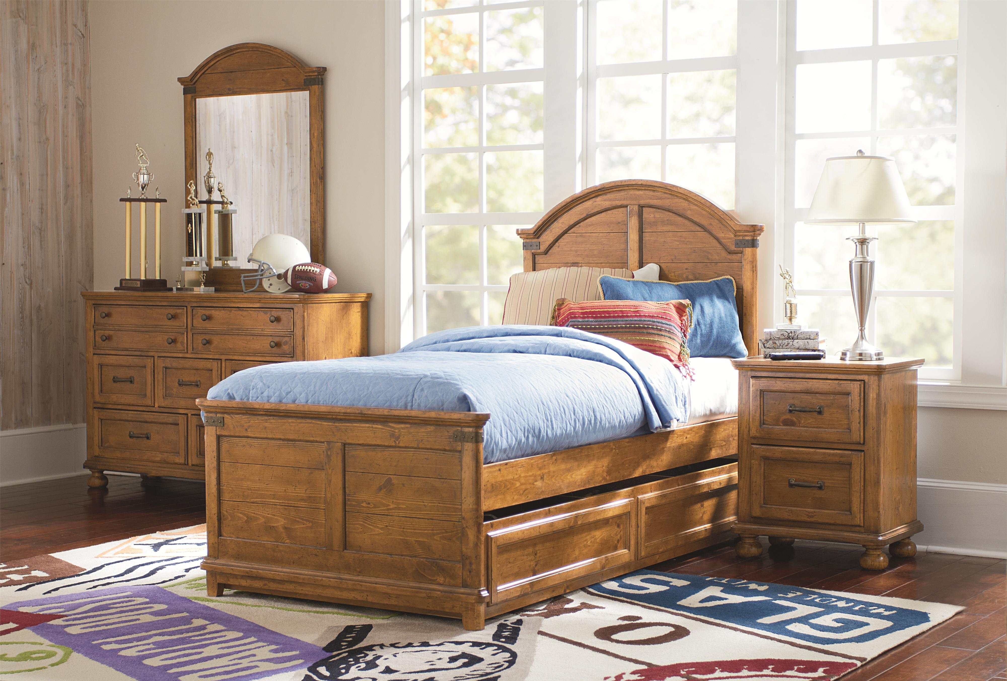 Legacy Classic Kids Bryce Canyon Twin Bedroom Group - Item Number: 3900 T Bedroom Group 4
