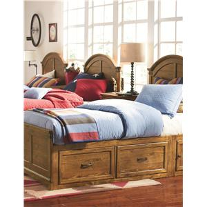 Legacy Classic Kids Bryce Canyon Twin Panel Bed with Underbed Storage Unit