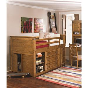 Legacy Classic Kids Bryce Canyon Full Bookcase Headboard with Shelves and Doors