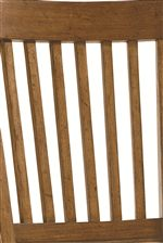 Vertical Slats Used on Chair and Bunk Beds