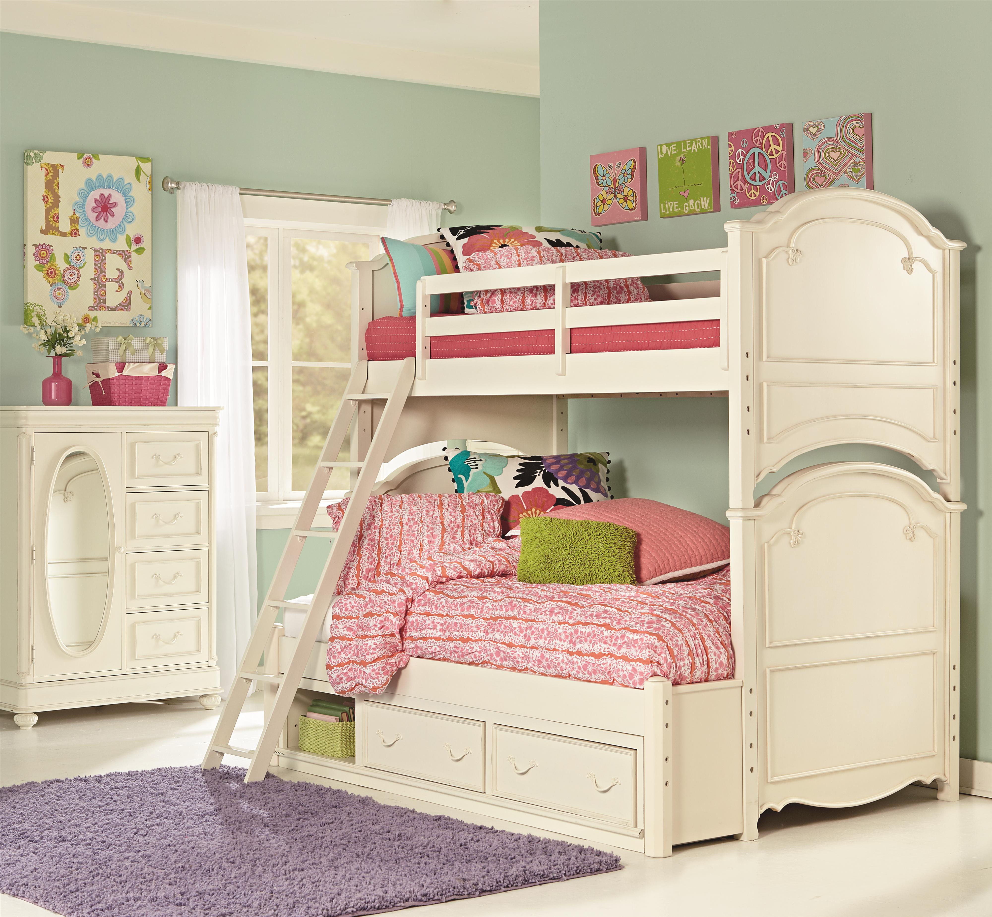 Legacy Classic Kids Charlotte Full Bedroom Group - Item Number: 3850 F Bedroom Group 1