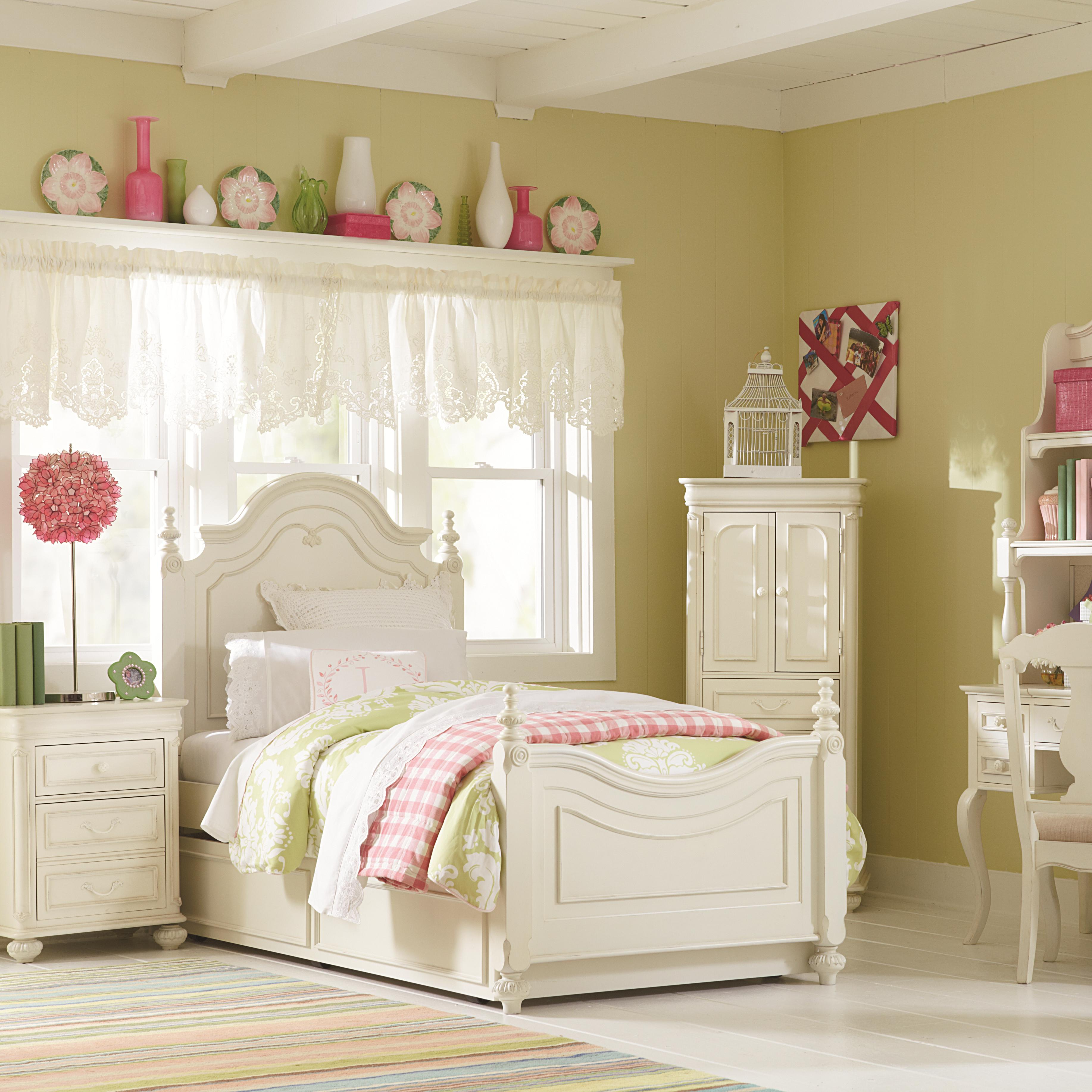 Legacy Classic Kids Charlotte Full Bedroom Group - Item Number: 3850 F Bedroom Group 7