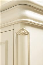Carved Pilaster Details and Molding on Edges