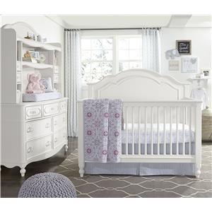Legacy Classic Kids Harmony Summerset Low Poster Twin Bed