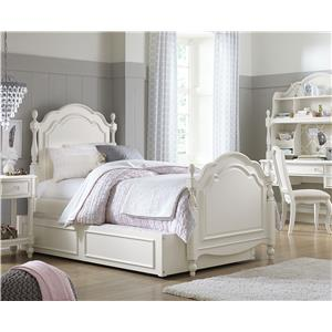Legacy Classic Kids Harmony Dresser + Changing Hutch with Strap Access