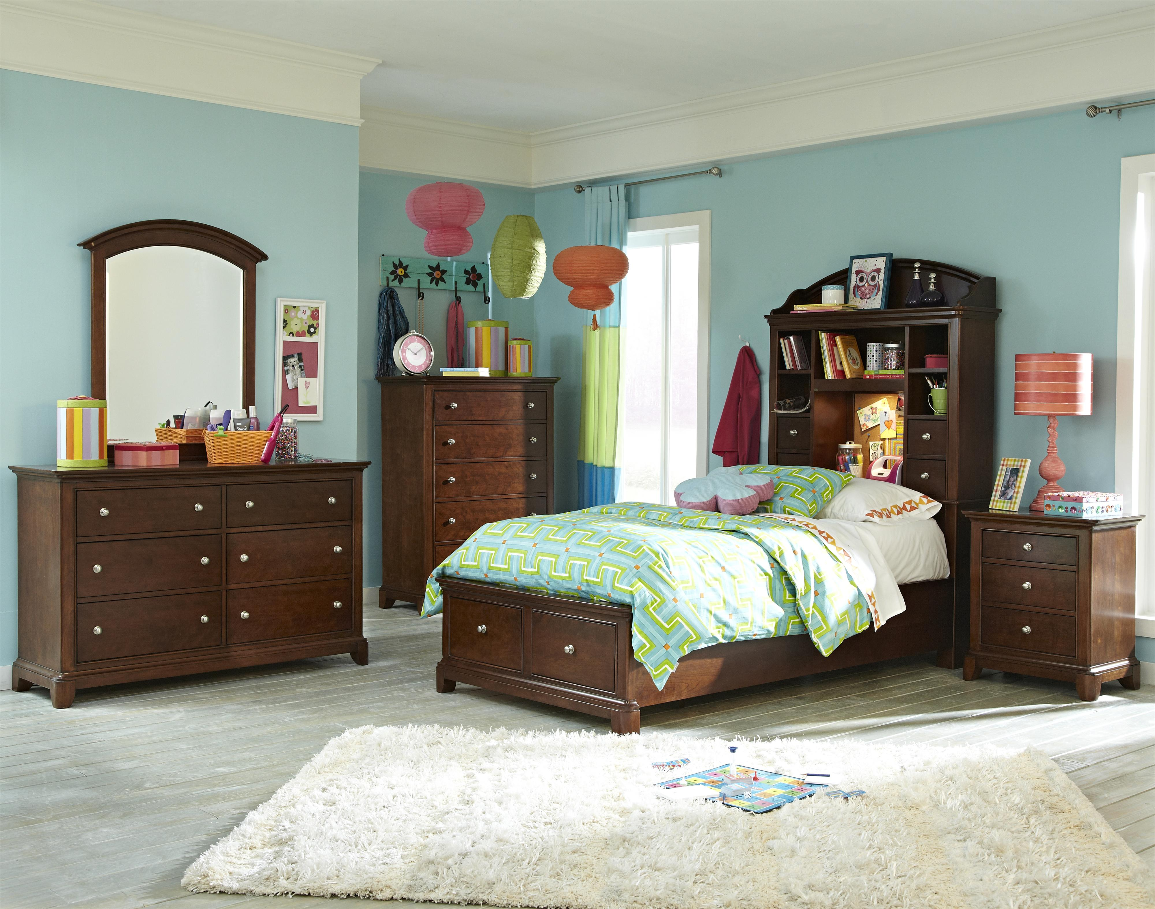 Legacy Classic Kids Impressions Full Bedroom Group - Item Number: 2880 F Bedroom Group 3