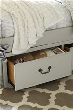 Underbed Storage Option Available on Select Beds