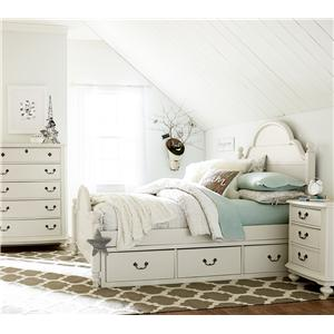 Legacy Classic Kids Inspirations by Wendy Bellissimo Full Westport Low Poster Bed with Trundle/Storage Drawer