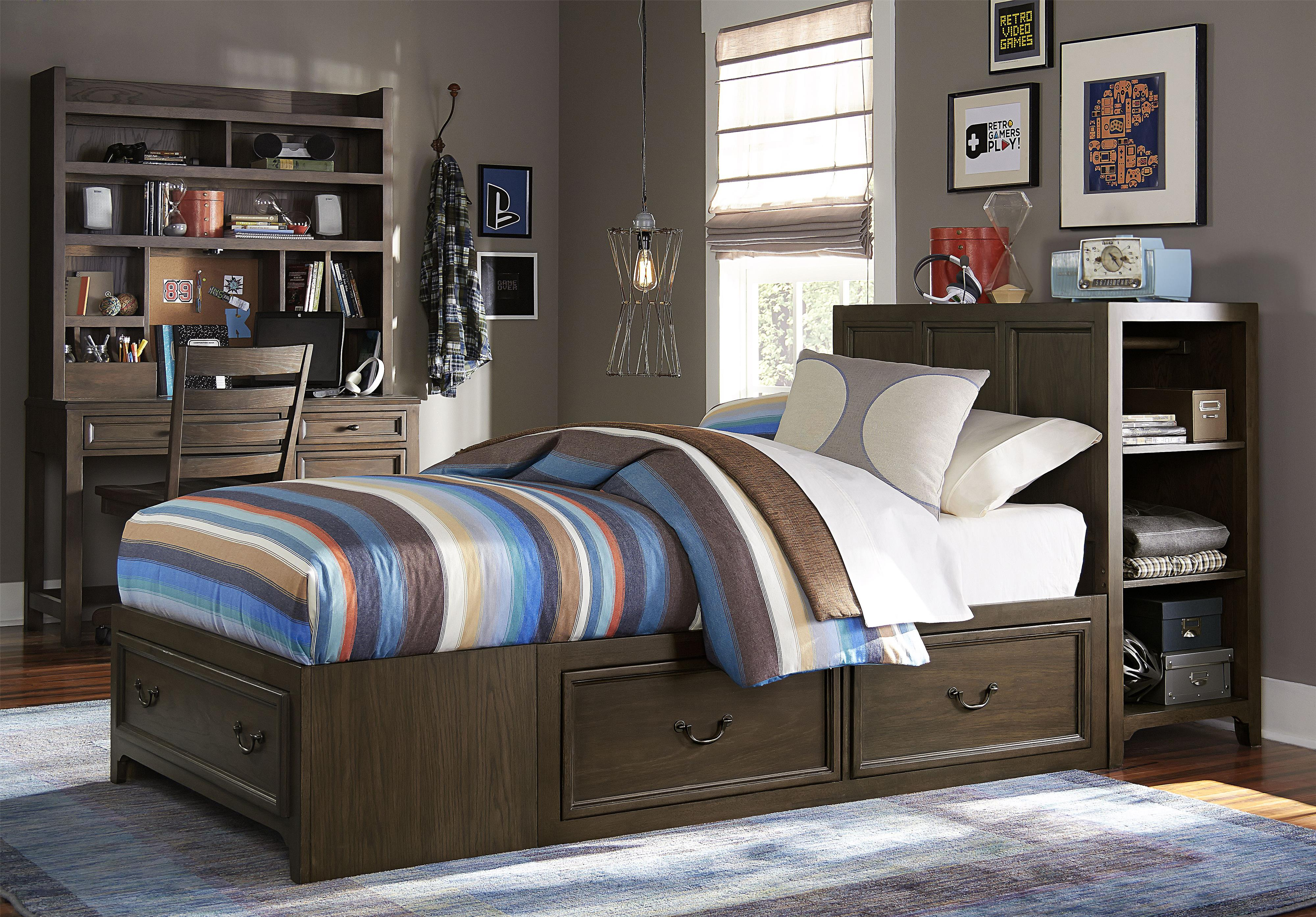 Legacy Classic Kids Kenwood Twin Bedroom Group - Item Number: 4800 T Bedroom Group 1