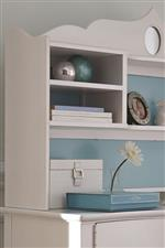Desk and Hutch Storage