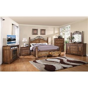 Legends Furniture Barclay Queen Bedroom Group