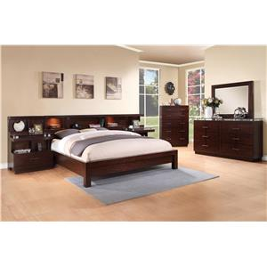 Vendor 1356 Novella Queen Bedroom Group