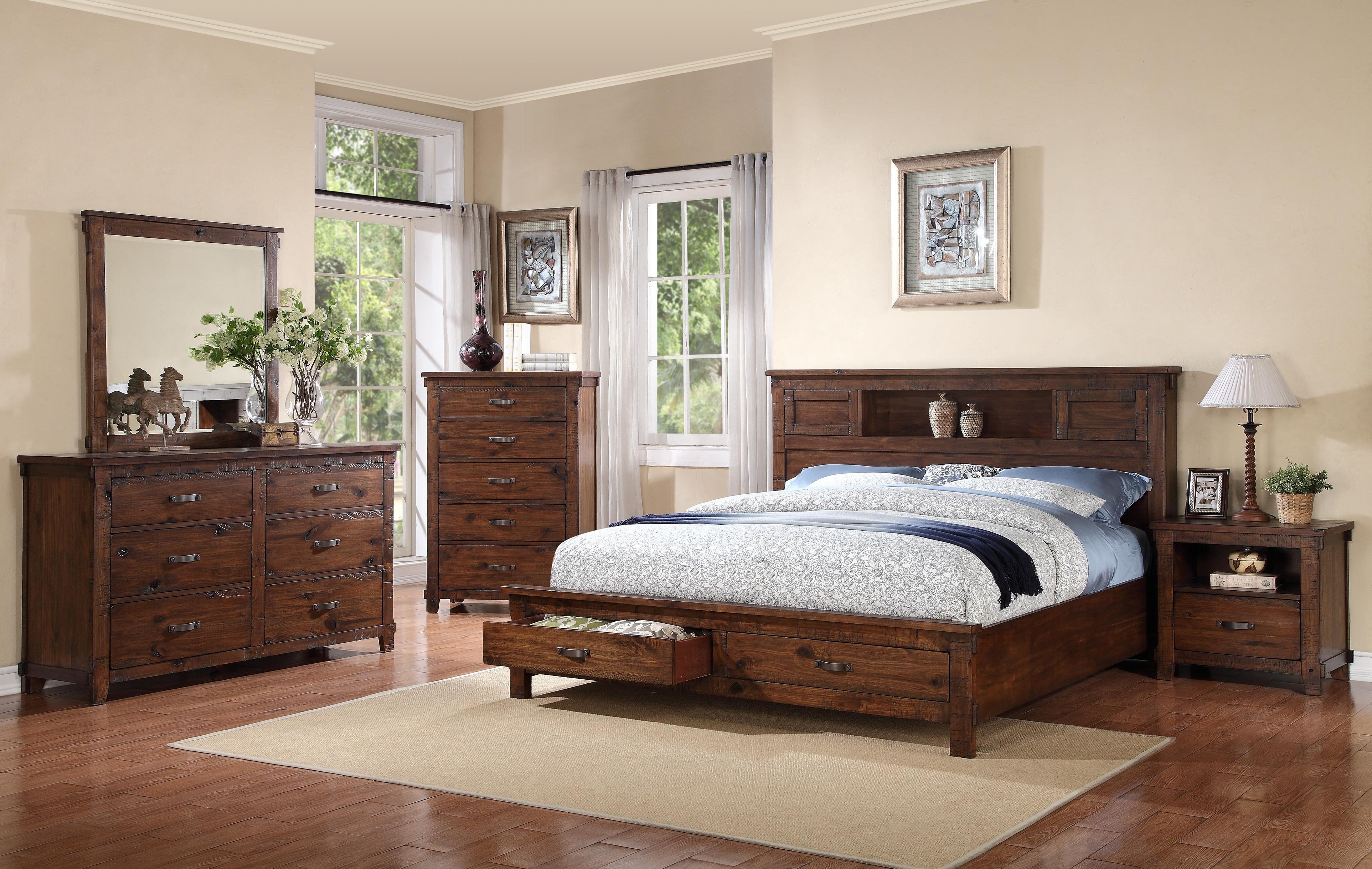 Legends Furniture Restoration King Bedroom Group - Item Number: ZRST K Bedroom Group 2