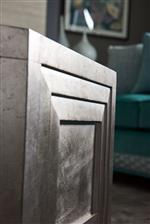 Select Pieces Dazzle with Mirror Inserts and Hand-Applied Silver Leaf