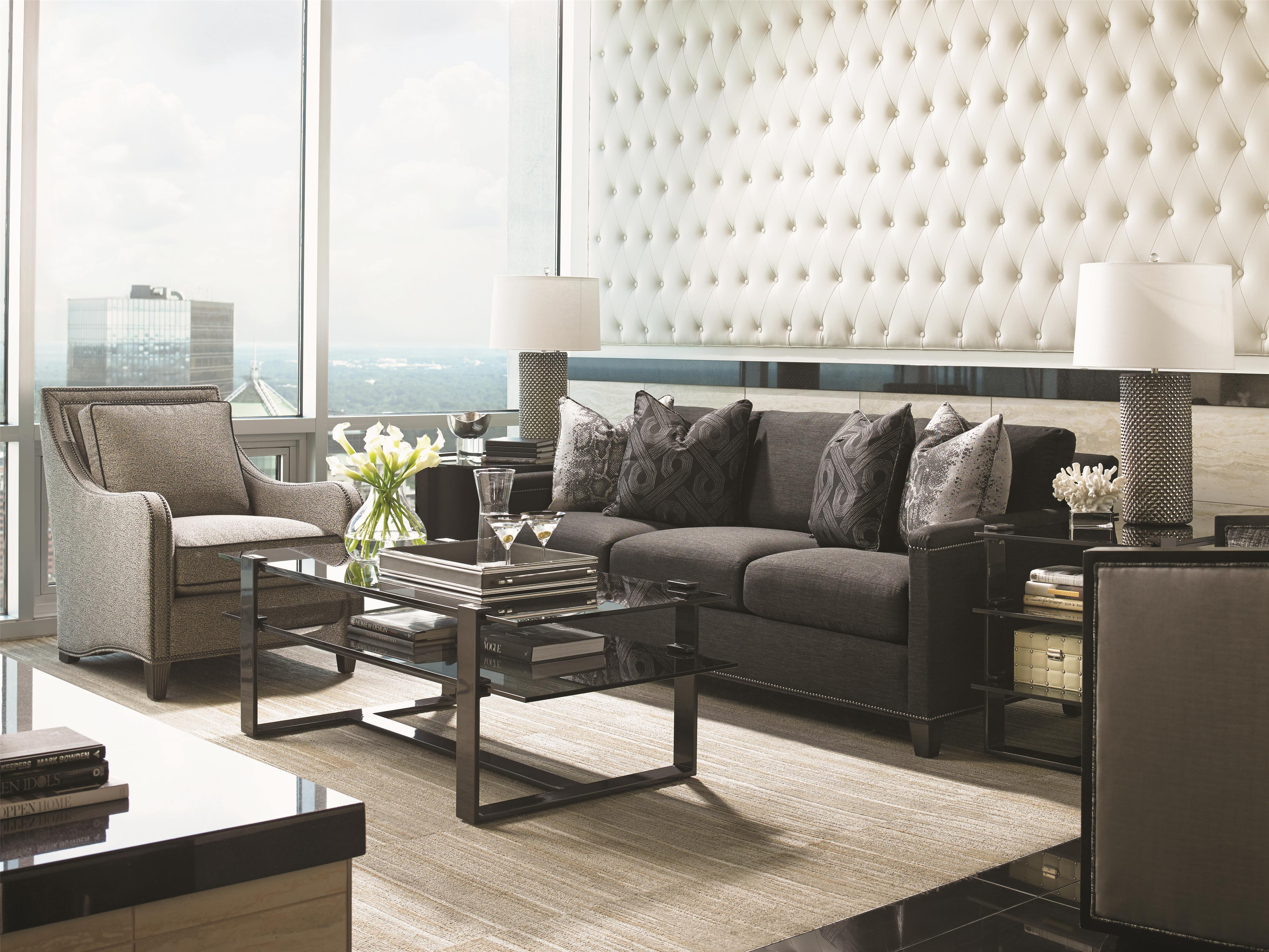 Carrera Stationary Living Room Group by Lexington at Baer's Furniture