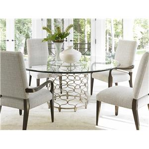 Lexington LAUREL CANYON Sierra Dining Arm Chair Upholstered in Special Order Fabric