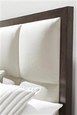 A Bed Upholstered in Soft, Suede-Like Microfiber is Not Only Subtly Elegant But Long-Lasting and Easy to Clean