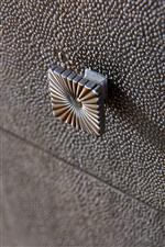 Shagreen is a Textural Material Traditionally Made from the Skin of Stingrays, Here Faux Shagreen Creates a Rich, Granular Texture