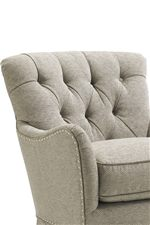 Several Pieces Use Button Tuft Detailing for a Sophisticated Look with Inviting Comfort