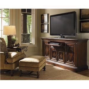 Lexington Fieldale Lodge Aspen Upholstered Dining Arm Chair