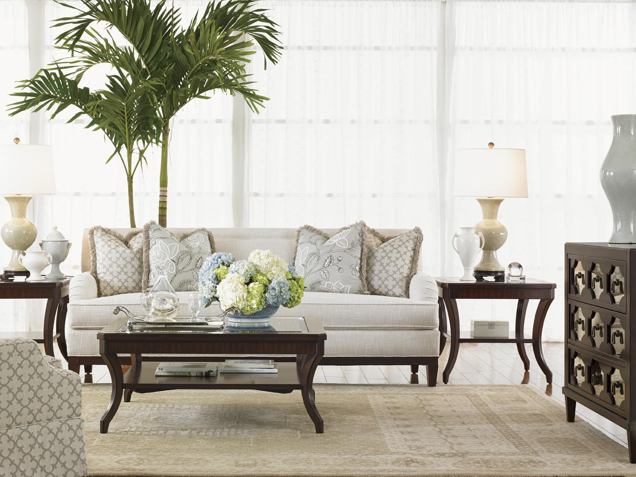 Kensington Place Stationary Living Room Group by Lexington at Johnny Janosik