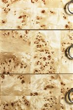 Decorative Mappa Burl Veneers Generate Attention with its Unique, Figure Pattern Design