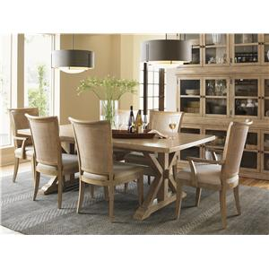 Lexington Monterey Sands Formal Dining Room Group