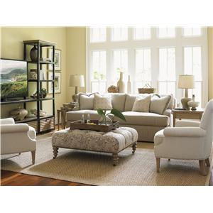 Lexington Monterey Sands Stationary Living Room Group