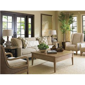 Lexington Monterey Sands Stationary Living Room Group