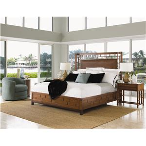 Tommy Bahama Home Ocean Club Queen Bedroom Group