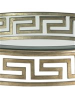 Classic Greek Key Motif Adds Interest to This Sleek, Contemporary Collection