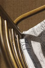 Tie-On Seat Cushions Reflect Classic French Laundry Styling