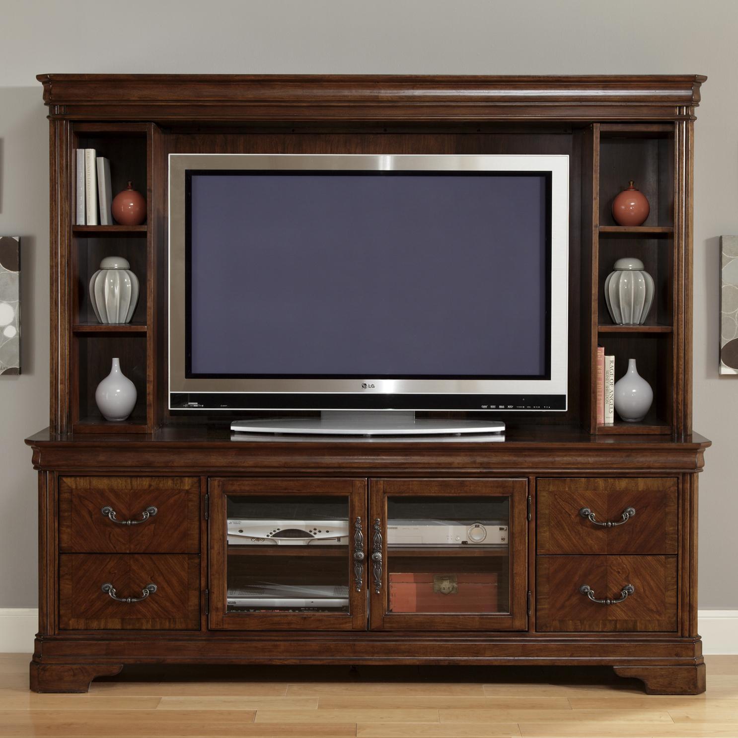 Good Liberty Furniture Alexandria Entertainment Center   Item Number:  722 TV00+EC00