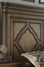 Decorative Overlay Motif on Panel Bed