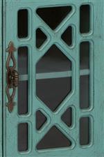 Trellis Design over Glass