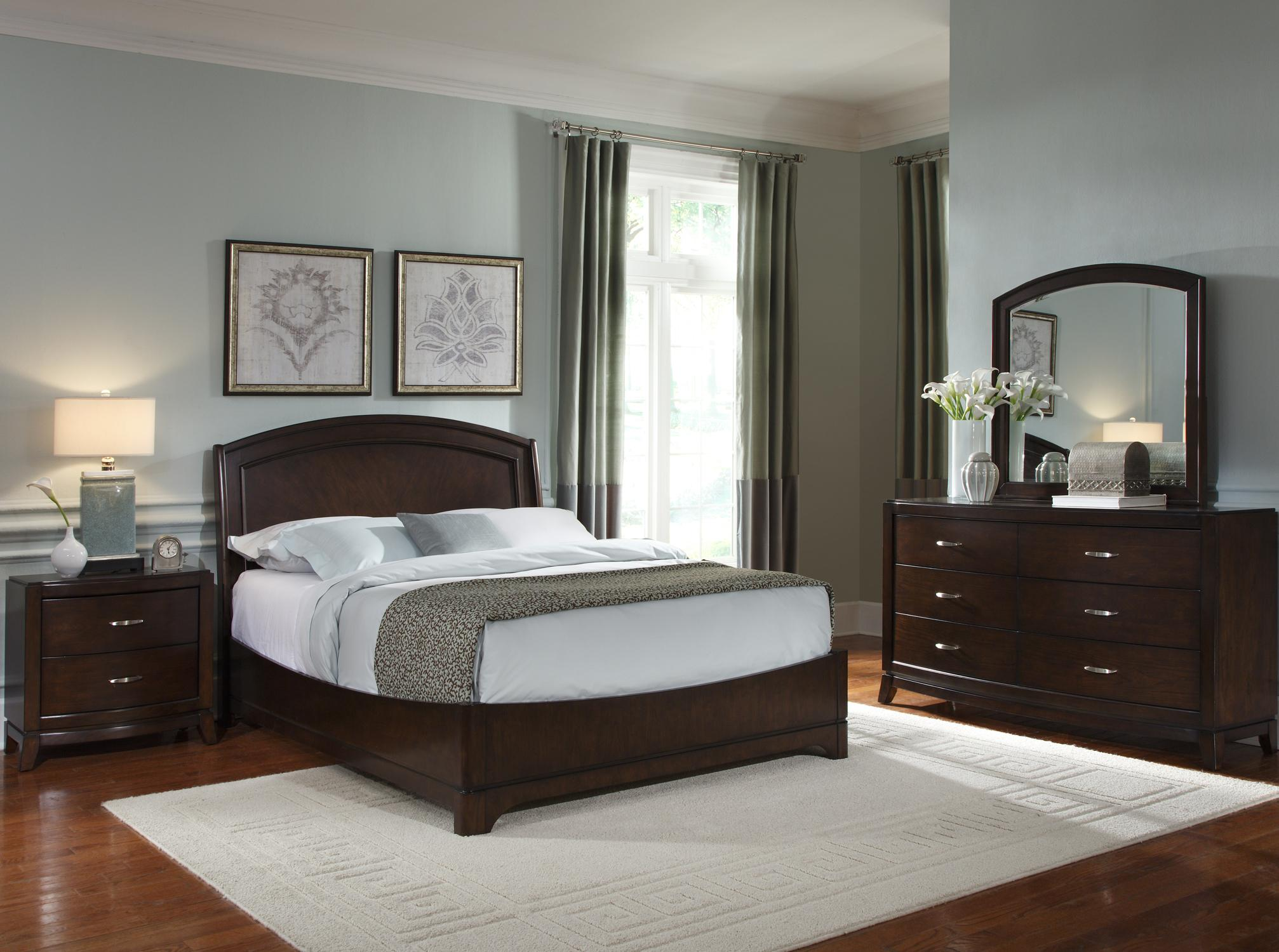 Avalon Queen Bedroom Group 1 by Liberty Furniture at Standard Furniture