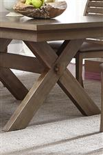 Rectangular Table Trestle Base