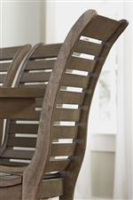 Side Chair Slat Back