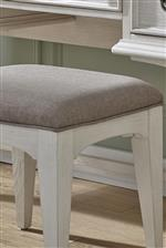 Upholstered Vanity Bench