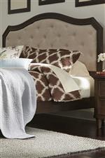 Tufted Linen Upholstered Headboard