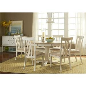 Liberty Furniture Point West Casual Dining Room Group