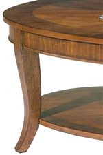 Liberty Furniture Bradshaw 748 Ot1020 Round End Table With