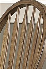 Arrow Back Chair