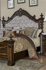 Tufted Upholstered Headboard with Posters